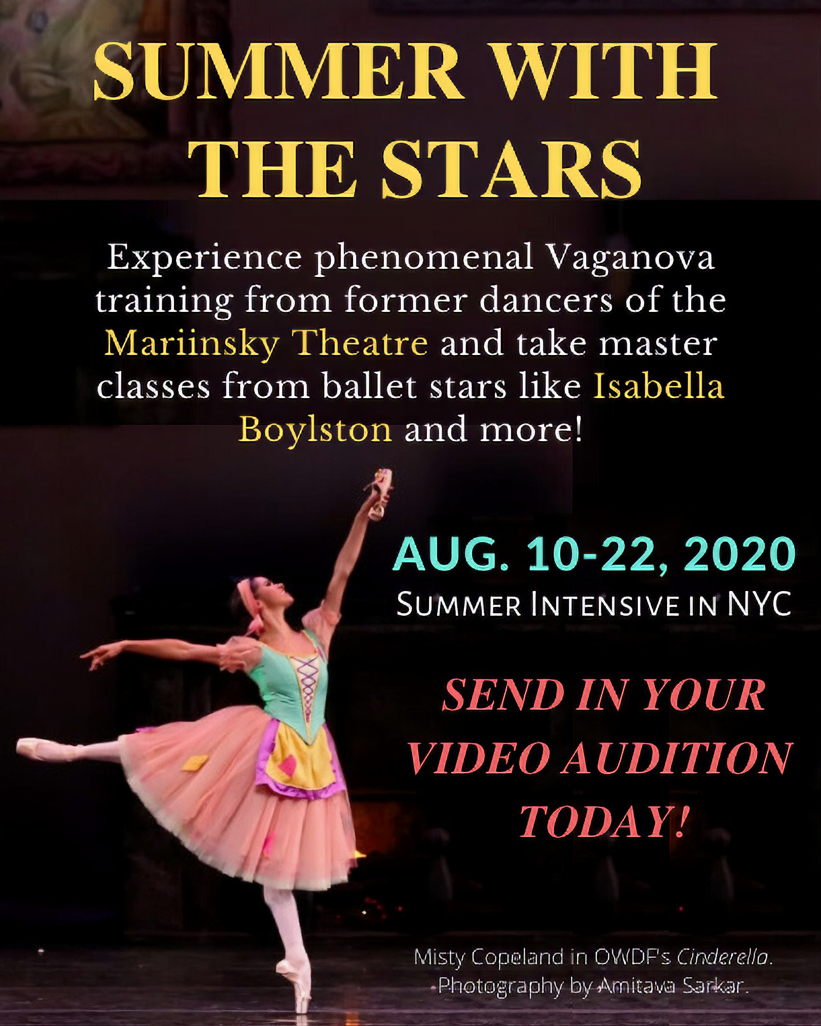 Train with stars like Isabella Boylston and more…