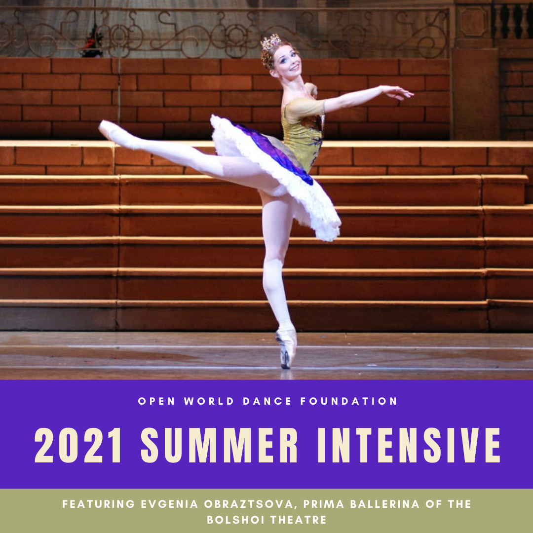 2021 Vaganova Summer Intensive and Teacher Training